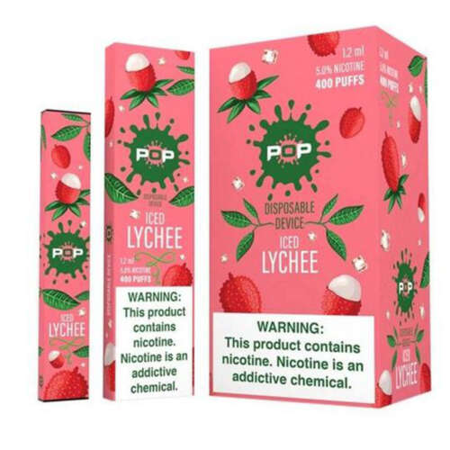 Pop Iced Lychee Disposable Device