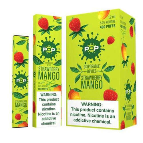Pop Strawberry Mango Disposable Device