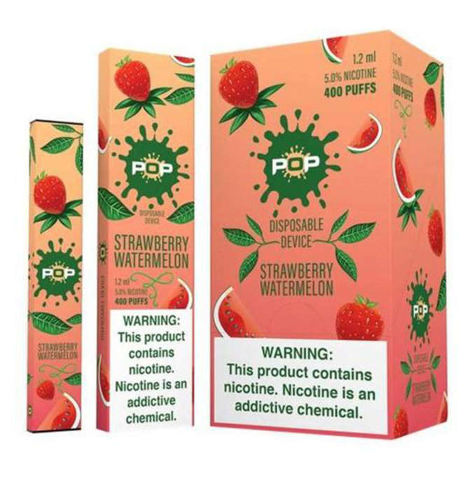 Pop Strawberry Watermelon Disposable Device