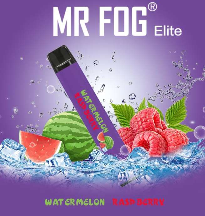 Mr. Fog Elite Watermelon Raspberry Disposable Device
