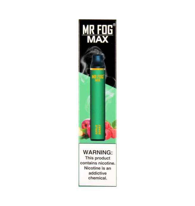 Mr. Fog Max Apple berry Disposable