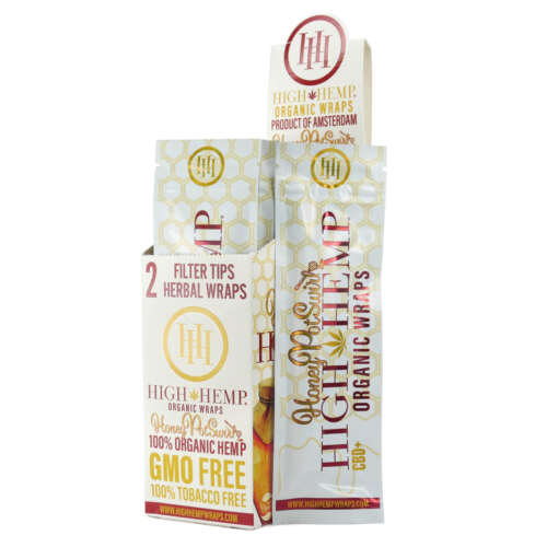 High Hemp Honey Potswirl Organic