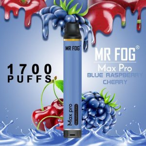 Mr. Fog Max Pro Blue Raspberry Cherry