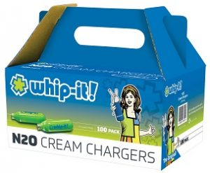 Whip-It N20 Cream Charges 100 Ct