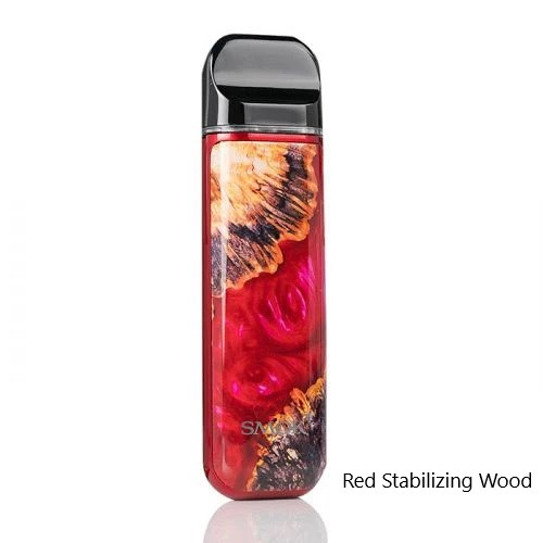 Smok Novo 2 Kit Red Stabilizing Wood