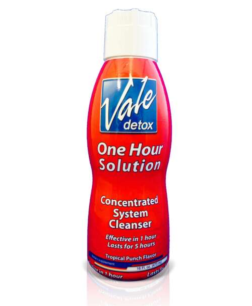 Vale Detox One Hour Solution Tropical Punch Flavor