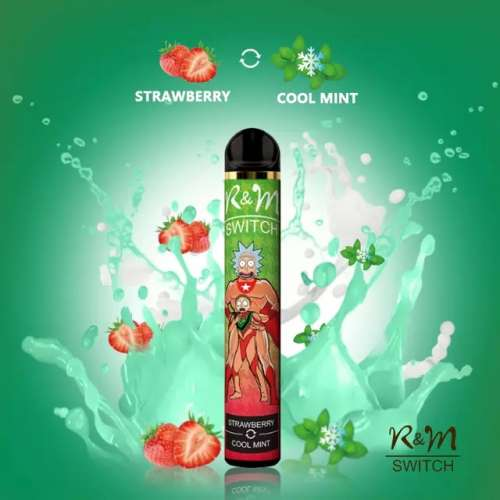 Rick and Morty Switch Strawberry Cool Mint