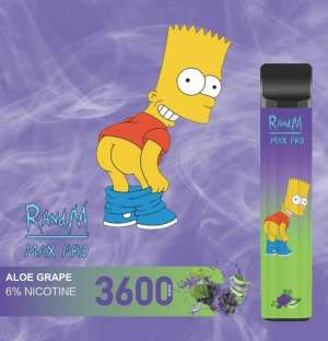 RandM Max Pro Aloe grape